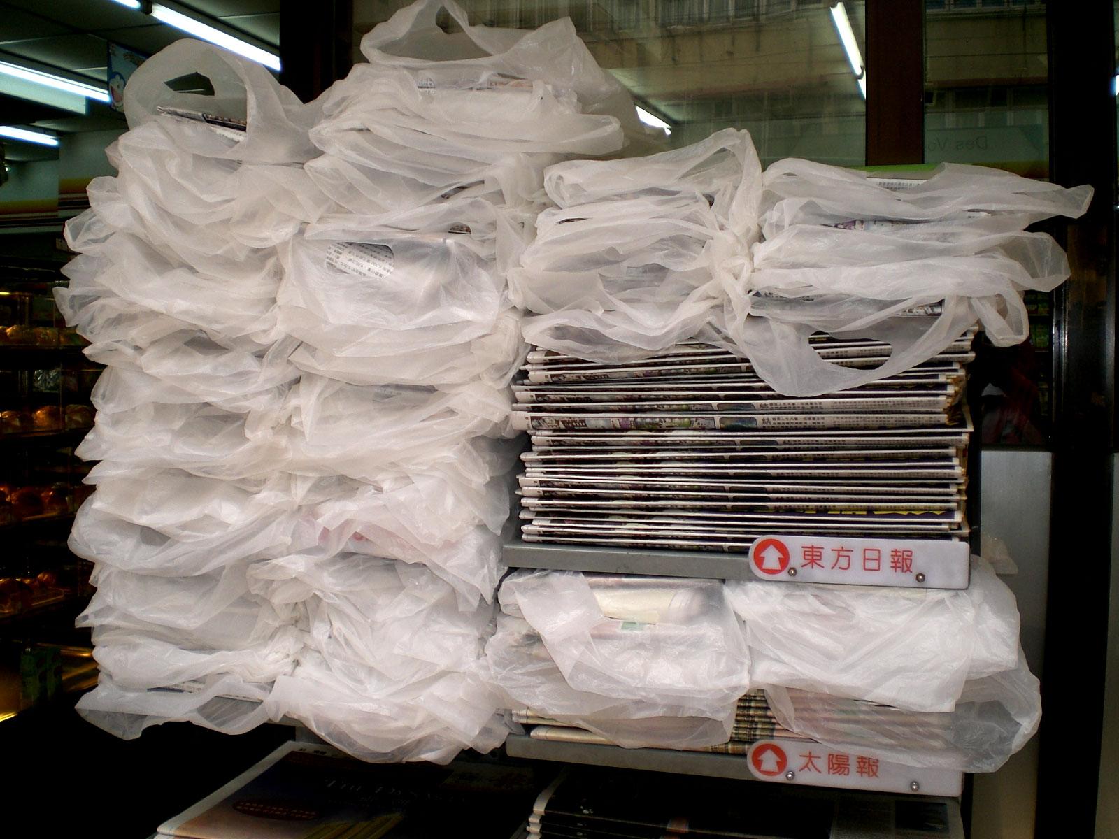 Harm of plastic bags