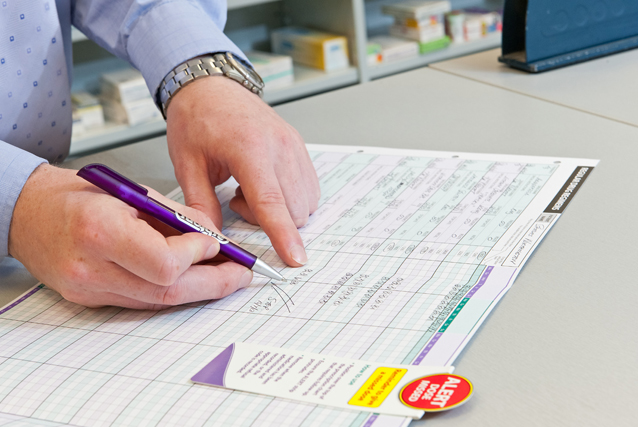 Prescription charts and documentation systems